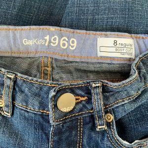 Gap Kids Girl's 1969 bootcut jeans size 8